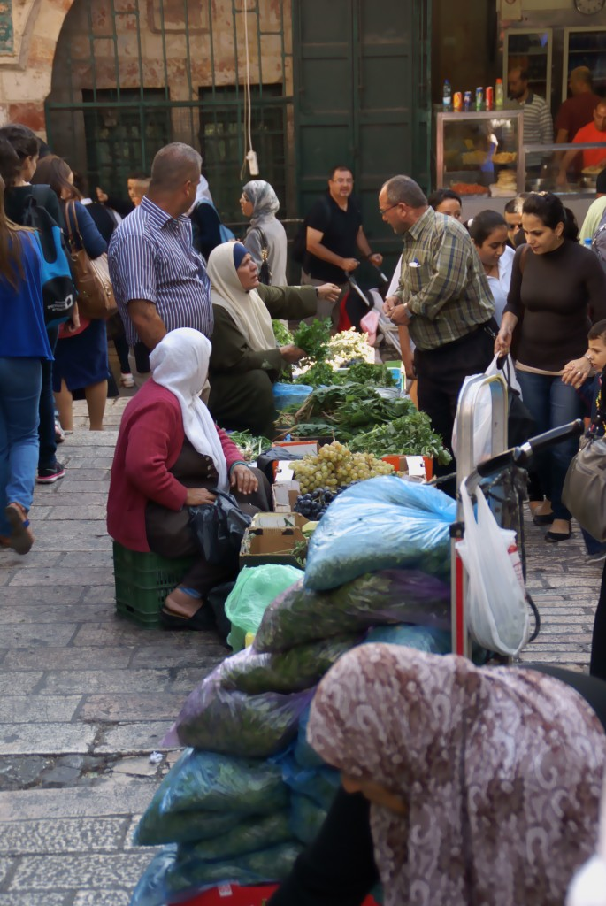 Market inside Damascus Gate