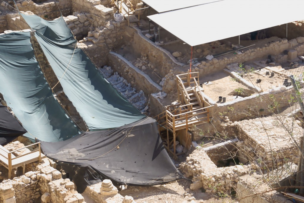 """City of David"" archaeological dig"